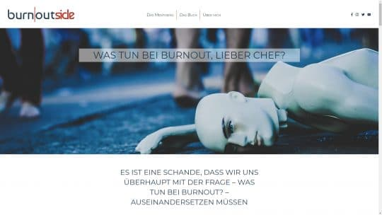 Referenz Website von burnoutside