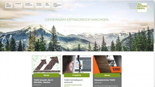 Referenz Website von dasErtragReich