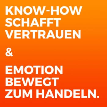 Leads generieren content marketing post know-how